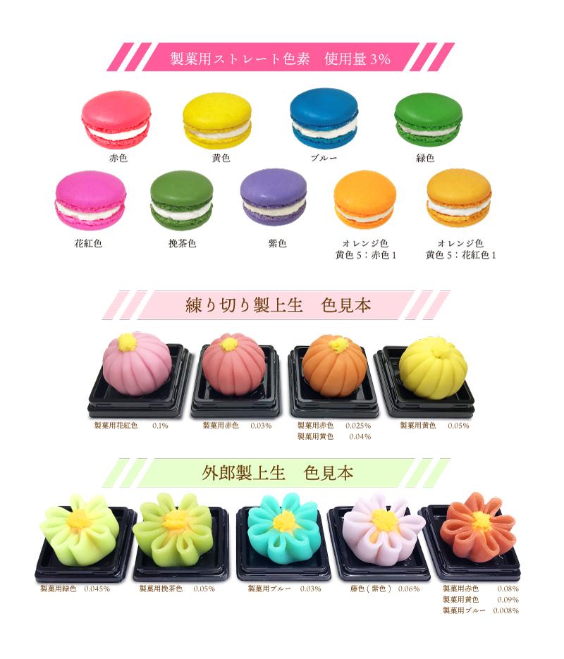 製菓用ストレート色素